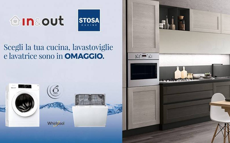 Promozione Cucine Stosa: lavastoviglie e lavatrice in regalo ...