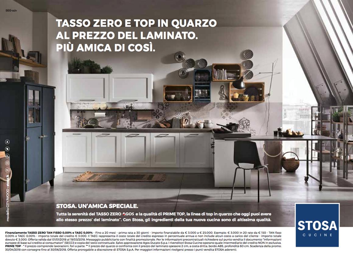 Cucine Stosa Prezzi 2018 cucine stosa a tasso zero | in & out srl
