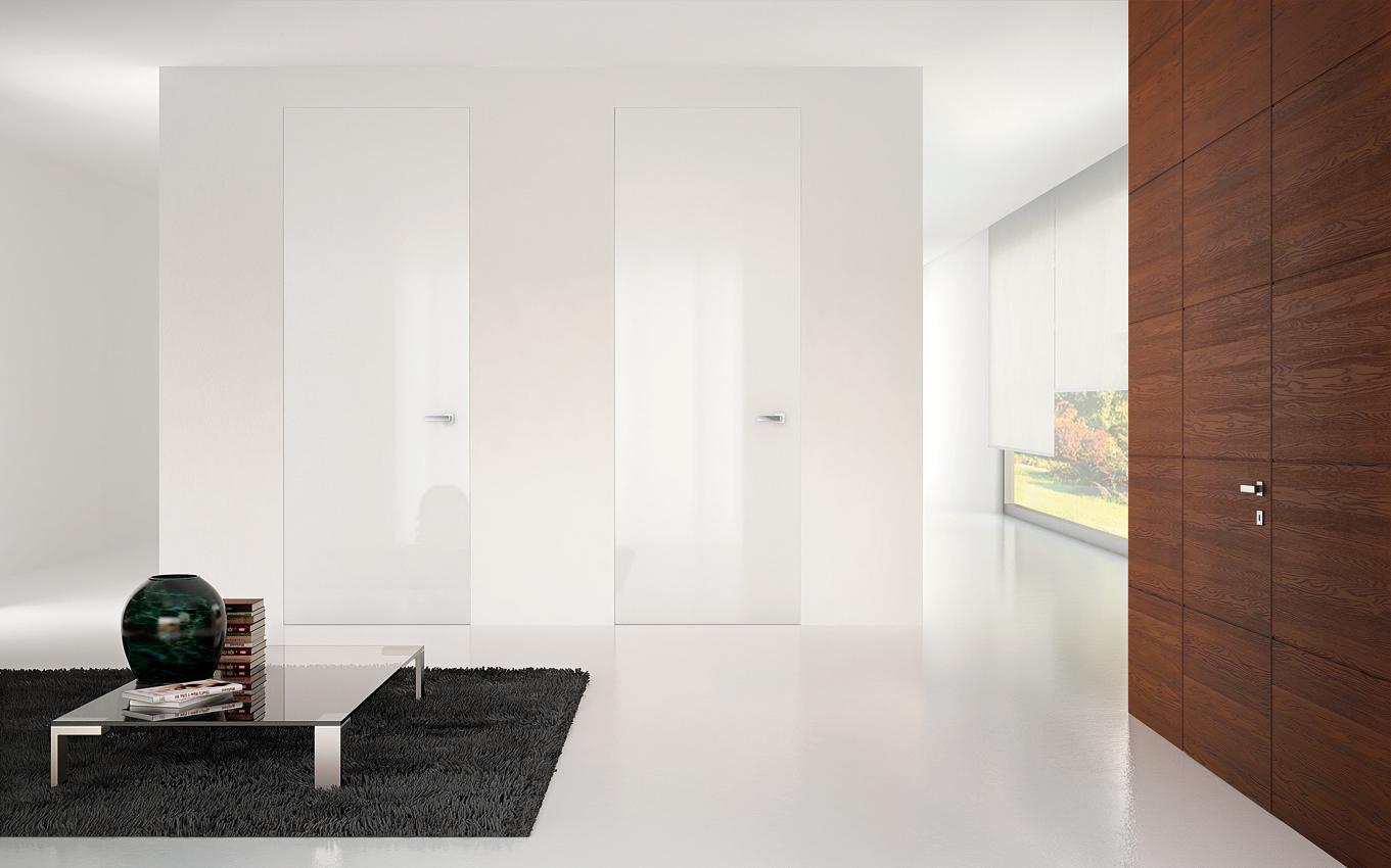 Armadio A Muro Design filomuro porte, armadi e battiscopa raso parete | in & out srl